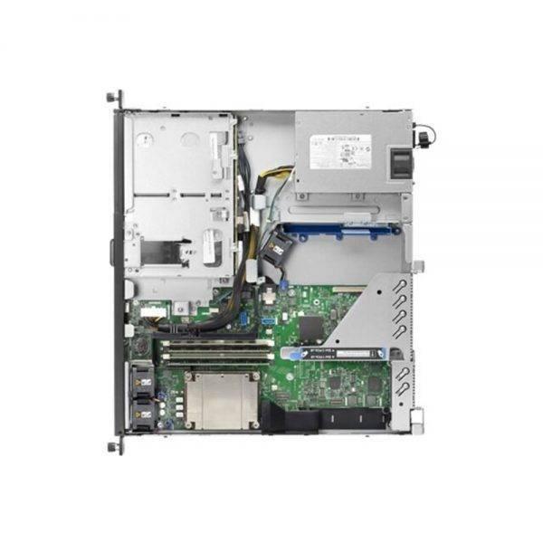 foto servidor hp dl20 de cima e aberto
